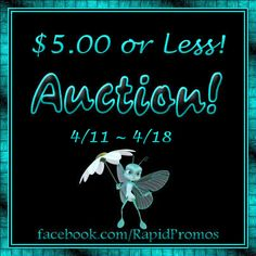 $5 or Less Auction! Make sure to check out all the great item's up for Bids!  https://www.facebook.com/RapidPromos/photos/a.479042435529548.1073741841.180863848680743/479042448862880/?type=3&theater