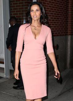 Padma Lakshmi has a night out in New York.