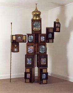 Nam June Paik, Hamlet Robot, Chrysler Museum of Art Nam June Paik, Chrysler Museum, Modern Words, Different Forms Of Art, Fluxus, Modern Masters, Assemblage Art, Ancient Art, Medium Art