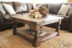 DIY Coffee Table Tutorial {Shanty 2 Chic}