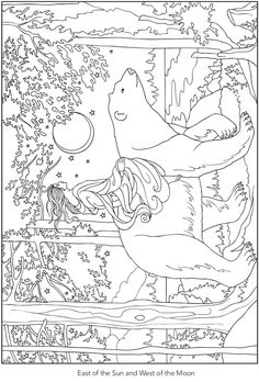 From Creative Haven Enchanting Fairy Tale Scenes Coloring Book