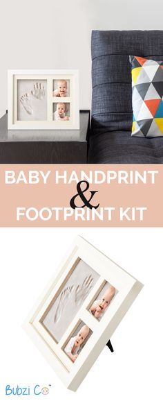 Your Baby Won't Stay Little Forever, But You Can Capture This Moment With Our Baby Footprint Kits And Handprint Kits. Buy 2 & GET FREE SHIPPING - Includes Everything You Need!