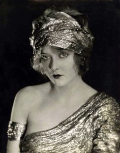 Mary Nolan, 1920s, photo by Edwin Bower Hesser