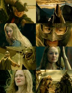 LOTR 30 Day challenge: Day 16: Favorite Female character: Eowyn