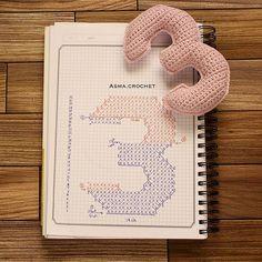 . واغتنموا كل يوم يمر بحياتكم .. اصنعوا منه وبه شيئاً جديداً غير عادي يستحق الحياة . . #crochet_numbers