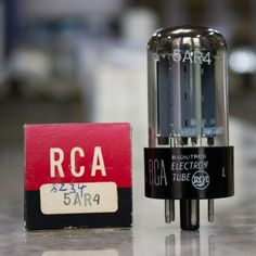 5AS4  and 5U4G  rectifier tube NOS