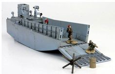 Maquette ForcesOfValor 85085 US LANDING CRAFT LCM3, Normandy 1944 1:72