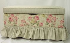 Toy chest #pink #shabby #rose