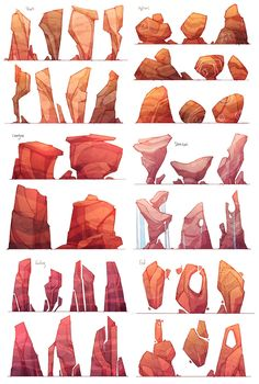 Forever Taking Notes — zestydoesthings: Visual development for a very...