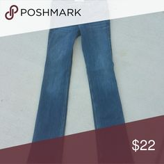 Hollister boot cut jeans Worn once. Size 1 regular. Waist is 25 & length is 33. Hollister Jeans Boot Cut
