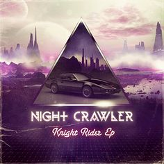 Nightcrawler Knight Rider EP by Medusateam , via Behance