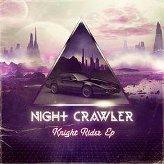 Nightcrawler Knight Rider EP by Medusateam , via Behance