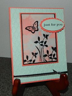 Straw Blowing Technique with Reinkers by Dee S. - Cards and Paper Crafts at Splitcoaststampers