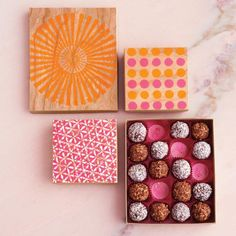No-bake Valentine's Day candies and DIY packaging