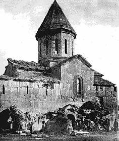 თიღვის ღვთისმშობლის  მიძინების ტაძარი. აგებულია 1152 წელს