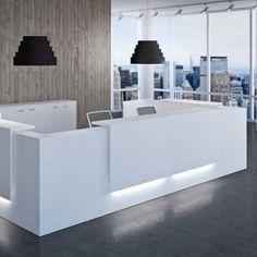 Reception Desks with Lighting