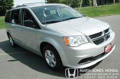 One of our vehicles in our pre-owned lineup. 2012 Dodge Caravan. Come see us at Marv Jones Honda