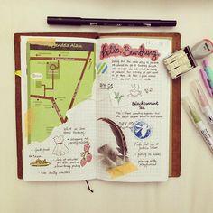 Bandung is always a good idea #midori #midoritravelersnotebook #travel #traveling #travelersnotebook #biztrip #journal #journaling #tombow #brushpen #sketch #doodle #doodles #documentedlife #foodjournal #indonesianplannercommunity #penpalswanted #traveljournal #flatlay #getmessyartjournal #sketching #doodling #kuretake #kuretakezig #bandung #indonesia #dailyjournal #traveljournal #artjournal