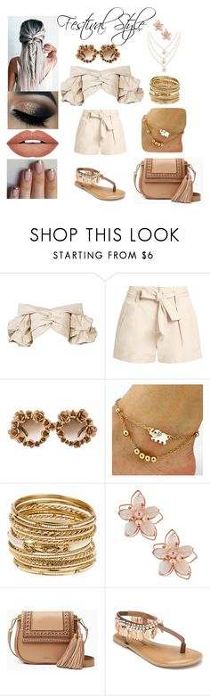"""""""Festival Style"""" by xcoordinatingfashionx ❤ liked on Polyvore featuring Johanna Ortiz, Étoile Isabel Marant, A-Morir by Kerin Rose, Amrita Singh, NAKAMOL, Kate Spade, Penny Loves Kenny and Forever 21"""
