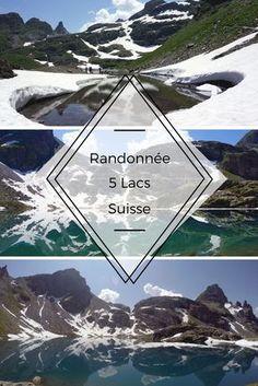 Suisse - randonnée des 5 lacs: une superbe randonnée autour du Pizol dans la région de Bad Ragaz en suisse allemande. Une rando sportive mais magnifique où on passe par les plus beaux lacs de montagne de Suisse