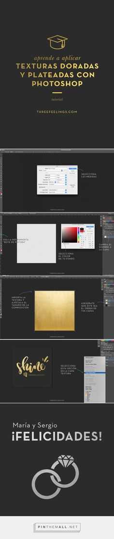 Golden Texture on Photoshop. APLICA TEXTURAS DORADAS CON PHOTOSHOP: