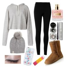 """""""Lookin' Good On A Chilly Day"""" by barbiecar ❤ liked on Polyvore featuring UGG Australia, Max Studio, Faith Connexion, Bobbi Brown Cosmetics, Maybelline and OTM"""