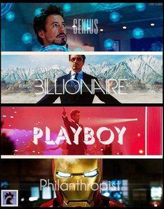 IRON MAN: Genius, Billionaire, Playboy and Philanthropist