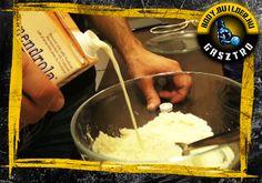 Vaníliás protein szelet házilag, elkészítés - II. lépés