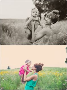 Photo by Blossom Lane Photography. Mother and baby photo inspiration.