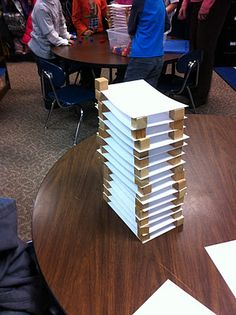 Building Skyscrapers and using nonstandard measurement! So fun!