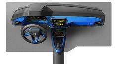 Gashetka   Transportation Design   2014   Volkswagen T-ROC Concept   Design by Jan...