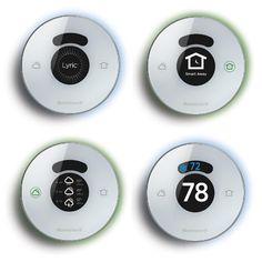 Honeywell Lyric Thermostat, Wi-Fi, 2nd Generation, Works with Apple HomeKit and Amazon Alexa