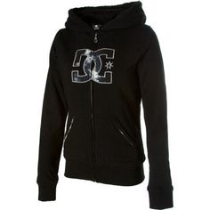 DC Women's Chayney Sherpa Hoodie (MD Apparel, Black) * Details can be found by clicking on the image.