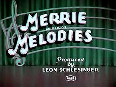 Merrie Melodies | Warner Bros. : now those were cartoons!