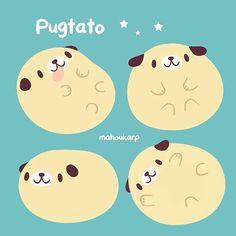This is me Cute Cartoon Drawings, Cute Animal Drawings, Kawaii Drawings, Kawaii Doodles, Kawaii Art, Kawaii Anime, Cute Kawaii Animals, Tsumtsum, Kawaii Illustration