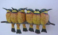 ALLPE Medio Ambiente Blog Medioambiente.org : Pájaros hiperrealistas de papel