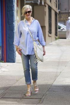 moda anti-idade: camisas femininas
