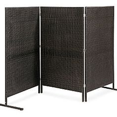 Resin Wicker Privacy Screen 60 wide x 54 high Resin Wicker Furniture, Outdoor Lounge Furniture, Deck Furniture, Outdoor Decor, Outdoor Projects, Lounge Chairs, Bamboo Garden Fences, Outdoor Spaces, Outdoor Living