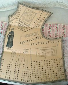 Antique Perfection Tailor System of Dress Cutting Pattern RARE Edwardian | eBay