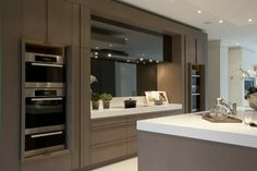 Light timber kitchen