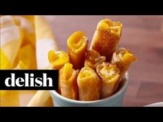 Best Grilled Cheese Soup Dippers - Delish.com. Maybe my kids would eat soup with these?