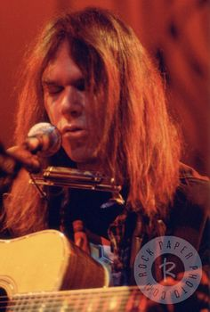 Neil Young, London 1973 by Jim Leddy www.RockPaperPhoto.com