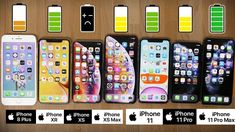 Ultimate iPhone Battery Comparison: iPhone 11 Pro Max vs 11 Pro, 11, XS ... Iphone 8 Plus, Buy Iphone, Iphone 11, Iphone Background Vintage, Iphone Hacks, Phone Cases, Gifts, Apple, Ideas