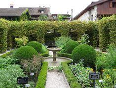 Yvoire-Jardin des Cinq Sens