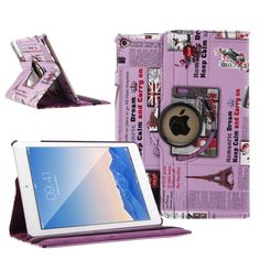 360 Rotating Leather Smart Case Magnetic Cover Stand For Apple iPad mini 1 2 3