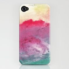 watercolor...i don't have the phone to go with this, but i might get one just to have this cover