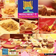 A mouthwatering click from Madras Market VI venue.  #MadrasMarket #chennai #shopping #food #music #carnival #chennaiShopping