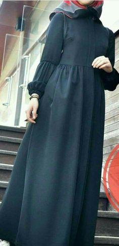 Sewing clothes, my Hijab Fashion Summer, Modern Hijab Fashion, Islamic Fashion, Abaya Fashion, Muslim Fashion, Modest Fashion, Fashion Dresses, Hijab Style Dress, Hijab Chic