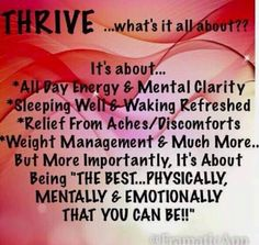 what is thrive? farahackerman.level.com                                                                                                                                                                                 More