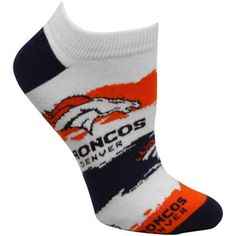 Denver Broncos Women's Wave Ankle Socks